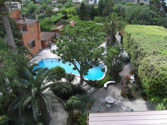 Grand Hotel Ambasciatori: Pool and garden