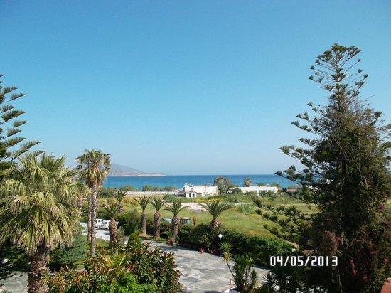 Tigaki Beach Hotel: Ausblick vom Balkon