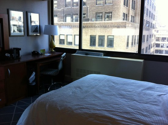 كورتيارد باي ماريوت نيويورك سيتي مانهاتن: Room 18th floor