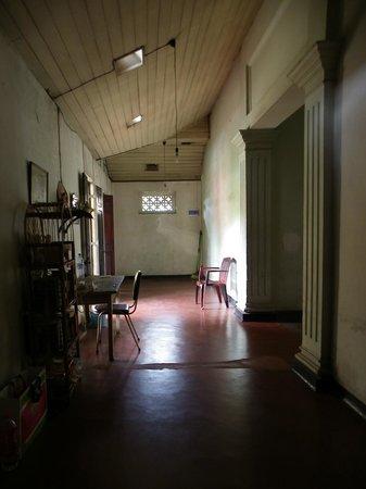 Burmese Rest: a corner of guests dorm