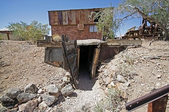 Military left overs, Castle Dome ghost town - Picture of ... |Arizona Mining Towns