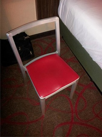 Bally's Atlantic City: The only chair in the room