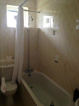 Riverside Hotel: Shower that doesn't work