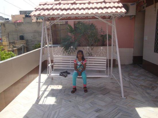 Hotel Golden Deluxe: hotel balcony