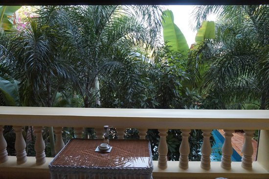Pavillon d'Orient Boutique-Hotel: Balcony view