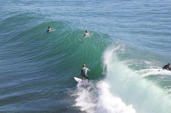 Dana Point, Californië: It's like a Surfcamp - but in California.
