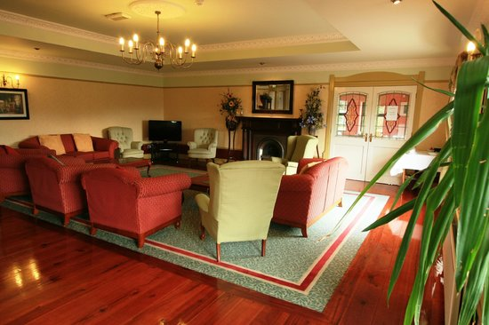 Knockranny Lodge lobby
