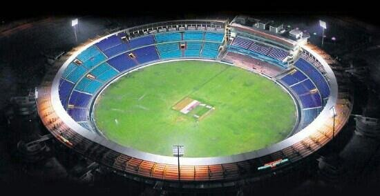 international cricket stadium,Raipur chattisgarh 2nd biggest in india