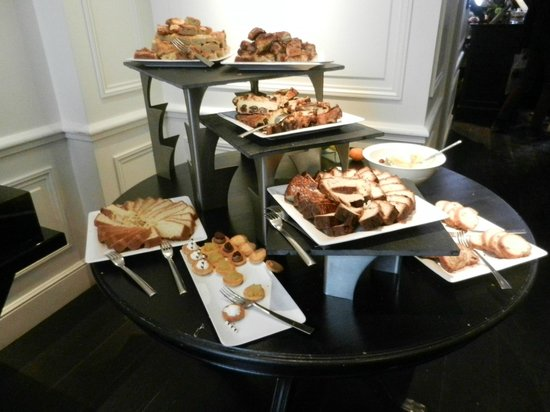 La Compagnie de Bretagne: buffet