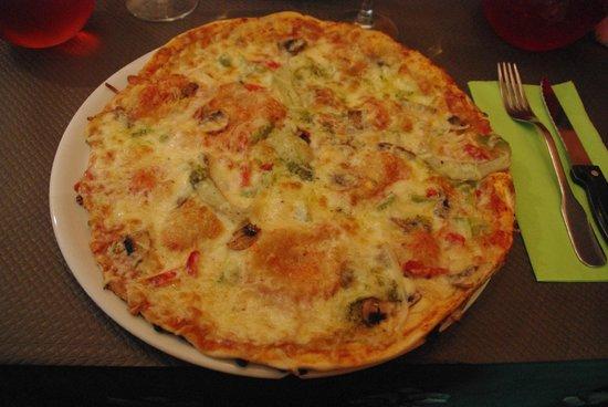 La Calabre: la pizza 4 saisons