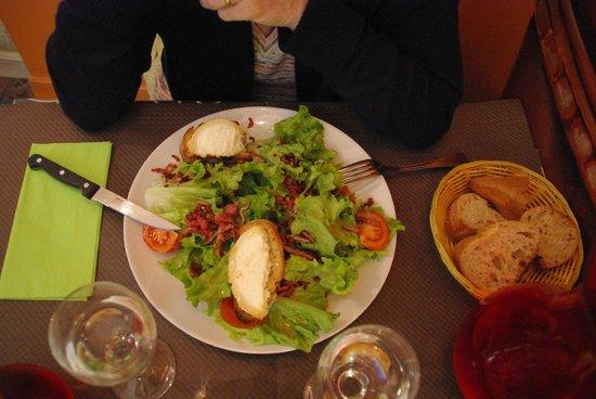 La Calabre: Salade repas