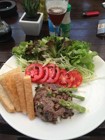 Belgian Beer Bar / restaurant : Tartare de thon rouge