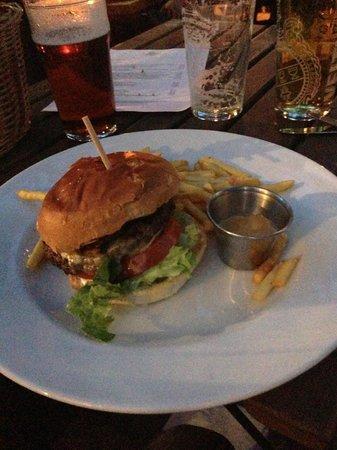 The Garden Gate: Pulled pork burger