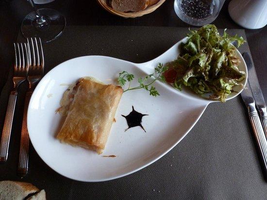 La Belle Epoque : Ham and cheese in filo pastry