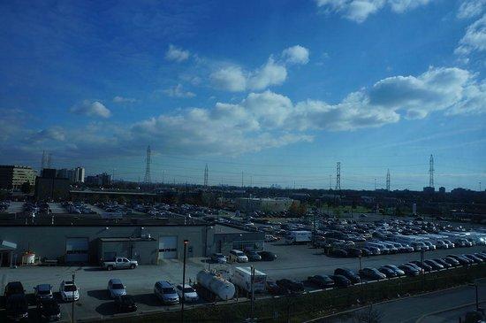 Radisson Suite Hotel Toronto Airport: la vue