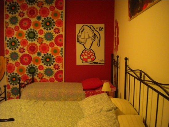 Mille Fiori : la stanza rossa!