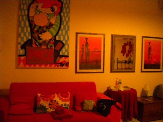 Mille Fiori : l'atra parete della stanza