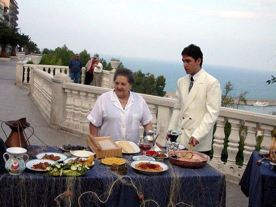 Ortona, Italia: Miramare a Linea Blu Raiuno 2002