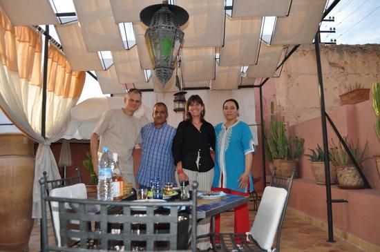 Maison Arabo Andalouse: Merci à l'équipe