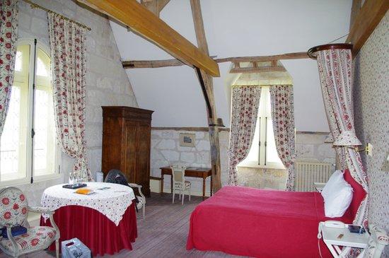 Chateau de la Bourdaisiere: La chambre Jeanne d'Arc