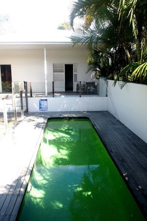 Byron Cove Beach House: My room with plunge pool