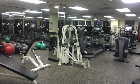Greensboro-High Point Marriott Airport: gym