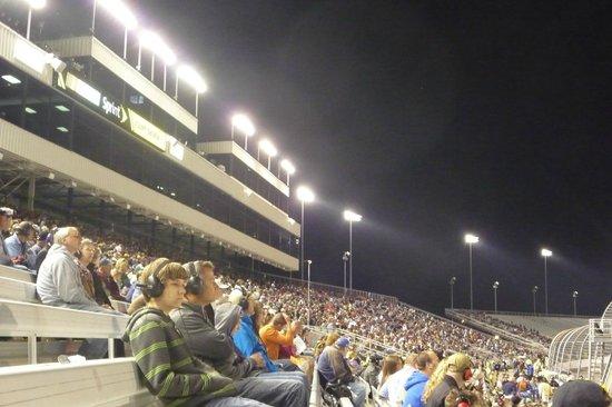 Richmond International Raceway: Night time