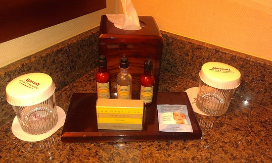 Greensboro-High Point Marriott Airport: I LOVE the soaps/lotions