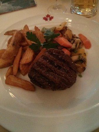 Steakhouse Ontario: filet steak