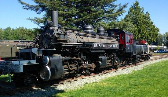 Northwest Railway Museum : Another historic steam engine