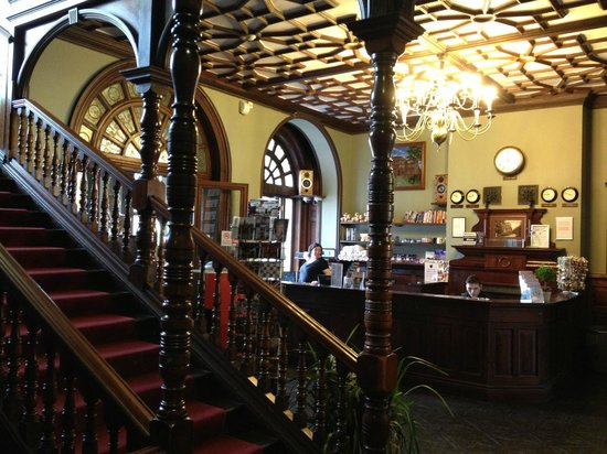 Palmers Lodge - Swiss Cottage: le lobby
