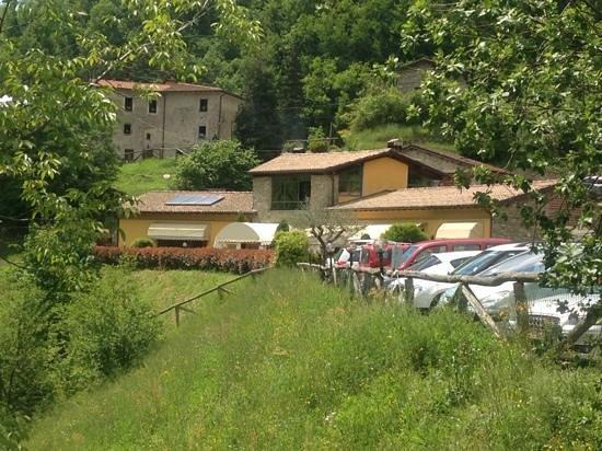 Fabbriche di Vallico, Italy: panoramica del ristorante