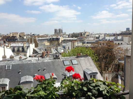 Left Bank Saint Germain: View from Hotel Suite