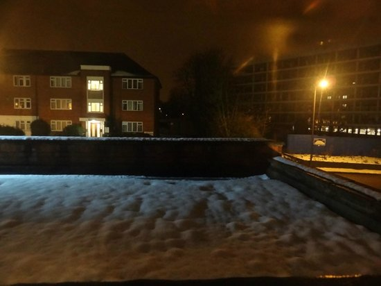 Kempsford House Hotel: View from room at night