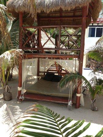 Hidden Beach Resort by Karisma: 2-story beach palapa