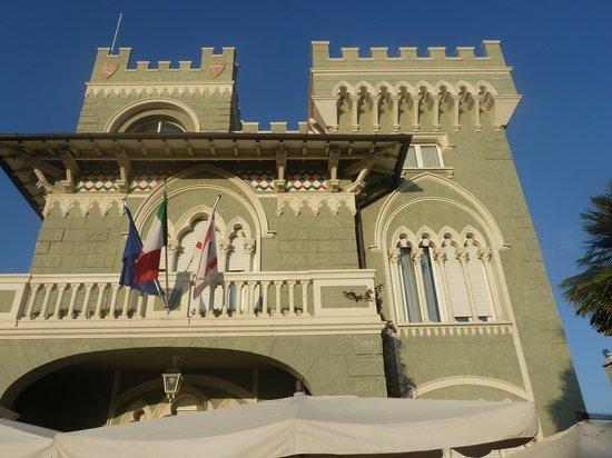 Hotel Gennarino: presque un château!