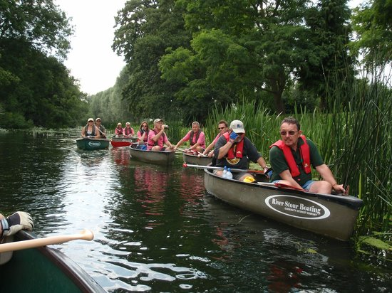 River Stour Boating: Crews on the river