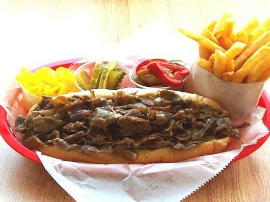 Philly Cheese Steak Shoppe: Double Steak Double Cheese a.k.a.-
