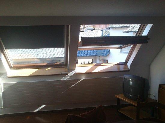 Hotel & Aparthotel Cosmos : Ventanas de apartamento