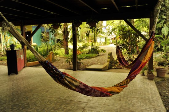 Cabinas Coconut Grove: Chill-out area