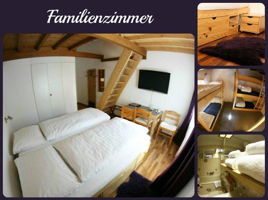 Hotel Surselva : Familyroom