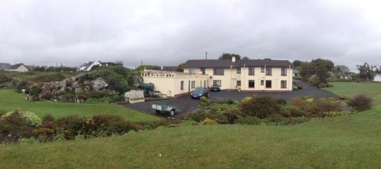 Ardmor Country House Spiddal: the house from the back