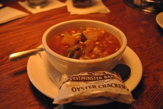 Fish Market Restaurant : Crab Soup