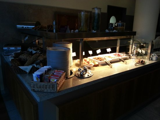Mercure Hotel Mannheim am Rathaus : breakfast buffet 2 - meat and eggs