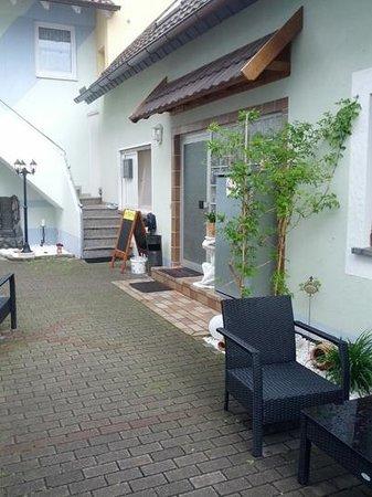 Gaestehaus Parkblick : L'entrée