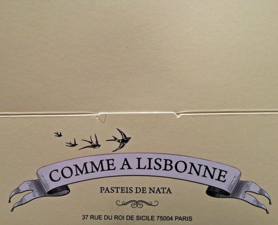 Comme A Lisbonne : la Boite - 6 pièces