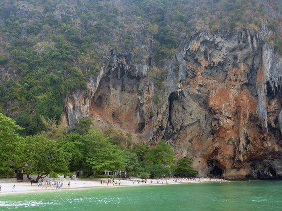 Sofitel Krabi Phokeethra Golf & Spa Resort: Phra Nang Beach. (Trip avec le bâteau de l'hôtel)