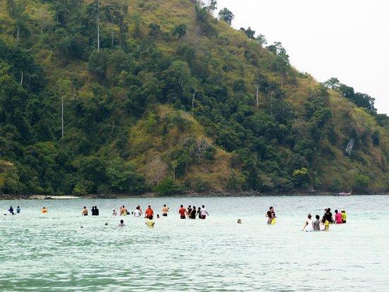 Sofitel Krabi Phokeethra Golf & Spa Resort: Koh Tub Island. (Trip avec le bâteau de l'hôtel)
