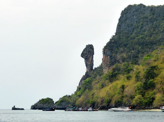Sofitel Krabi Phokeethra Golf & Spa Resort: Chicken Island. (Trip avec le bâteau de l'hôtel)