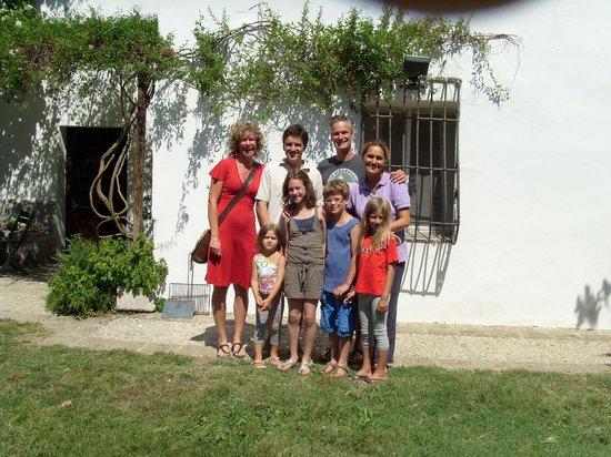 Agriturismo Madonna degli Angeli: With the family